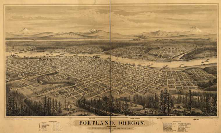 talkin shop_City Auditor - Archives Records Management - Auditor s Historical Records Portland Map