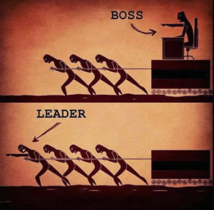 leadership vs management